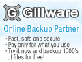 We are proud to be a Gillware Online Backup Partner